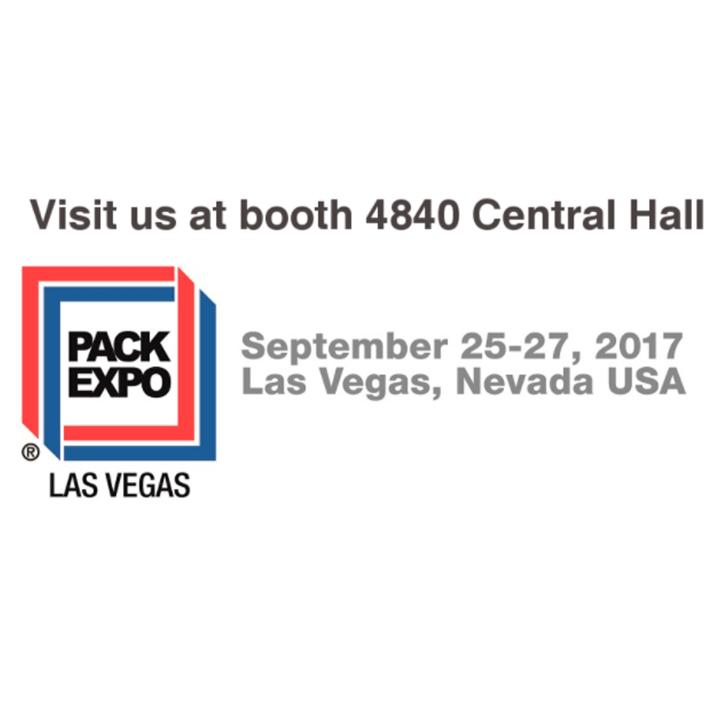 Visit us at PACKEXPO Las Vegas 2017