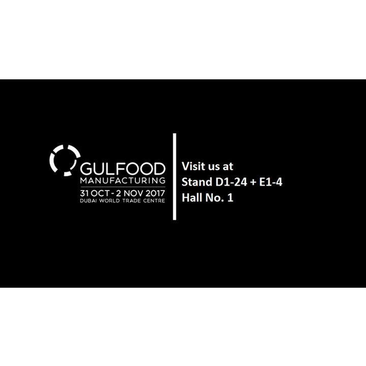 ARANOW will attend Gulfood Manufacturing 2017