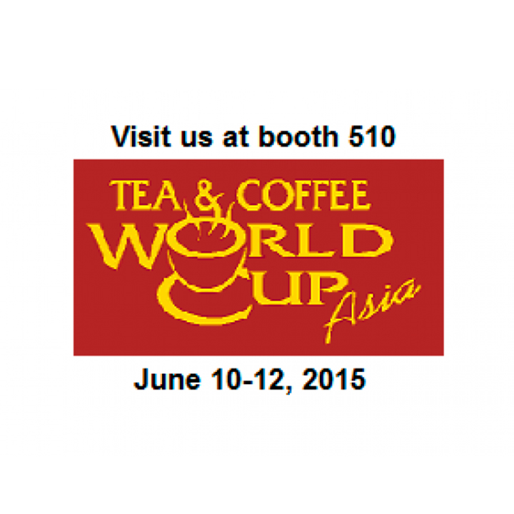 Check innovations on complete lines for packing any type of Coffee and Tea at booth 510 at Coffee & Tea World Cup 2015