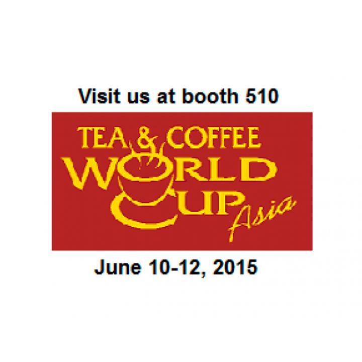 Coneix les innovacions en línies completes per envasar qualsevol tipus de Cafè i Tè a l'estand 510 de Coffe & Tea World Cup 2015