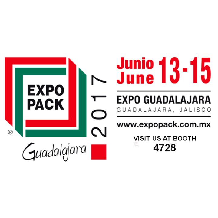 Visit us at EXPOPACK Guadalajara 2017