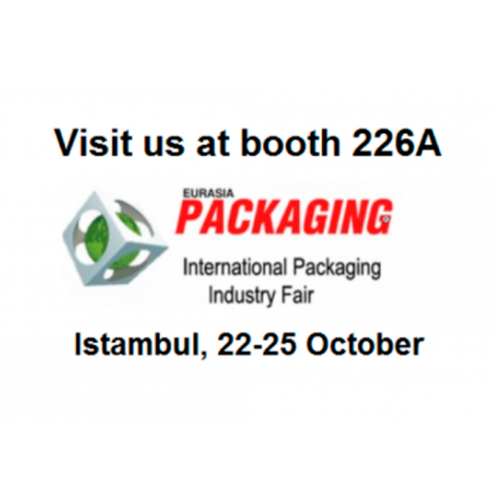 ARANOW brings innovative single dose packaging solutions to Eurasia Packaging Istanbul