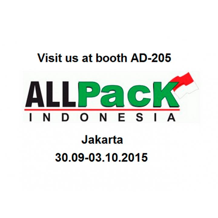 La 17ena edició d'ALLPACK Indonèsia d'aquest octubre comptarà amb el catàleg d'ARANOW