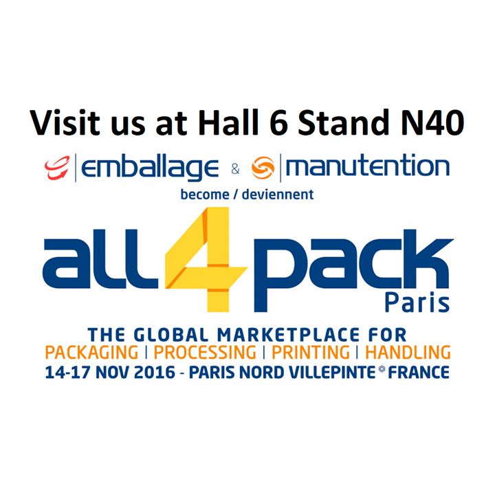 All4Pack Paris - formerly the Emballage fair - will feature ARANOW machinery