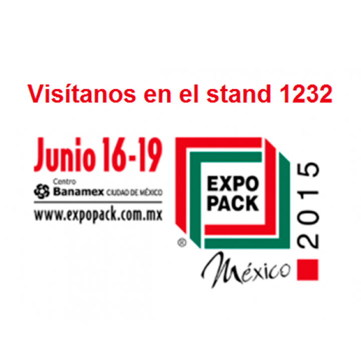 Discover our latest innovations at booth 1232 in Expo Pack Mexico