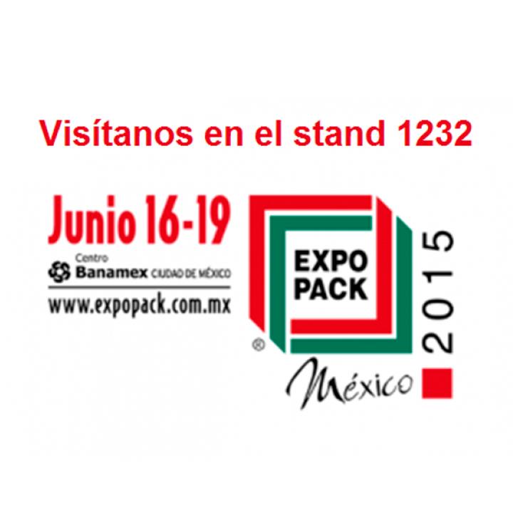 Conozca nuestras últimas innovaciones en el stand 1232 de Expo Pack Mexico