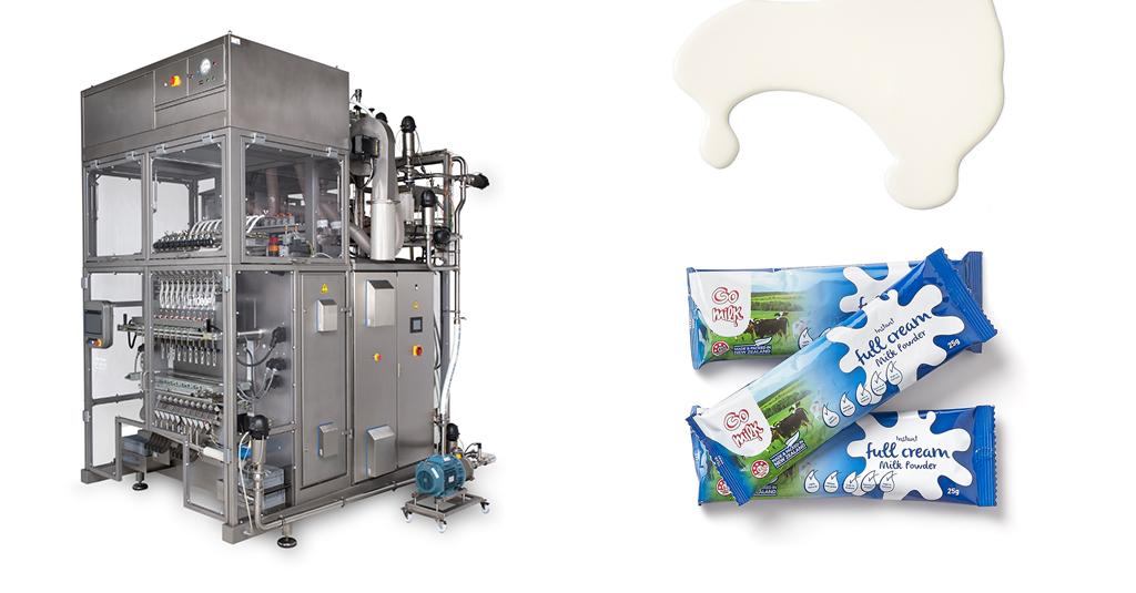 Envasadora Aranow para productos lácteos